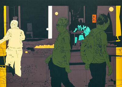 Evan Hecox, 'Night Market', 2019