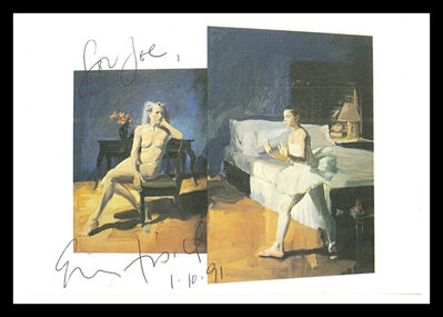 Eric Fischl, 'Bayonne (Hand Signed & Inscribed)', 1991