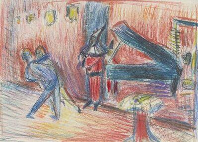 Martin Bloch, 'Jazz Band, Berlin Cabaret', c.1920s