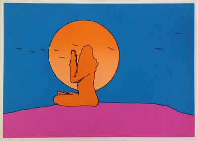 Peter Max, 'Swamiji', 1971