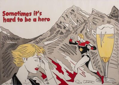 Ronnie Cutrone, 'Sometimes It'S Hard To Be A Hero', 2004