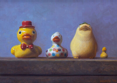 Samuel Hung, 'Study for Ducks in a Row', 2019