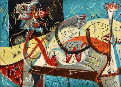 Jackson Pollock, ' Stenographic Figure', 1942