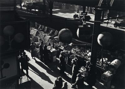 Aaron Siskind, 'Street Market, Harlem.', 1980