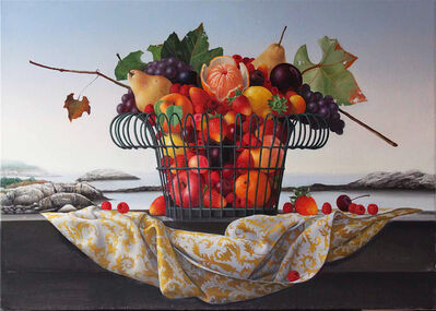 James Aponovich, 'Appledore, Basket of Fruit', 2013