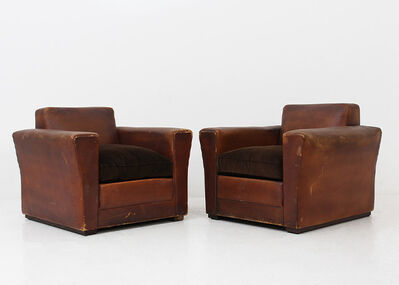 Osvaldo Borsani, 'Pair of armchairs by Osvaldo Borsani', 1940-1941