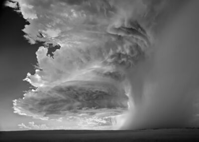 Mitch Dobrowner, 'Veil-Storm, Buffalo South Dakota', 2012