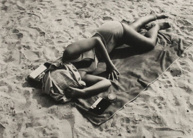 Ray K. Metzker, '70 AM 30 A, Sand Creatures', 1970