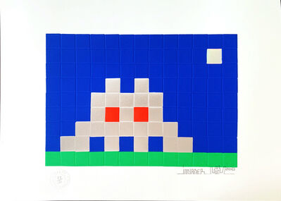 Invader, 'HOME - EARTH', 2010