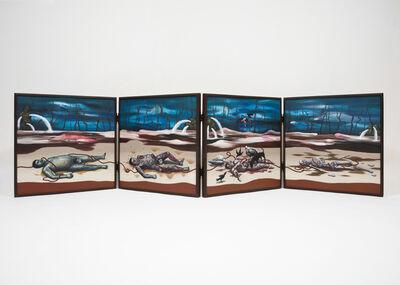 Goun Seo, 'Four Figure Paintings', 2018