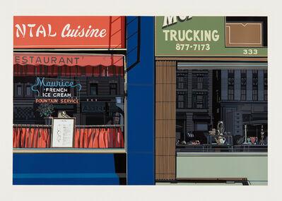 Richard Estes, 'Oriental Cuisine, from Urban Landscapes', 1972