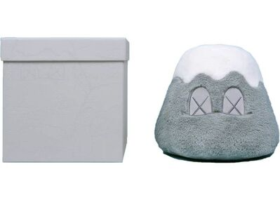 KAWS, 'Holiday Japan Mt Fuji Plush Grey By KAWS', 2019