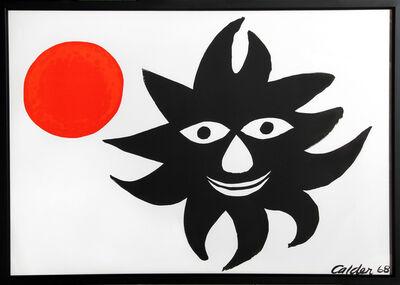 Alexander Calder, 'Red Sun', 1968