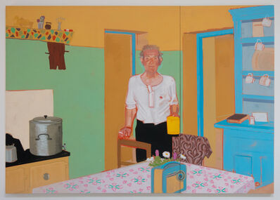 Patricia Patterson, 'Pat with Cigarette and Yellow Jug', 1986