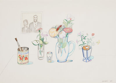 Saul Steinberg, 'Still Life with Couple', 1978