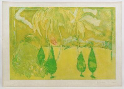 Giosetta Fioroni, 'Paul's garden II', 1985