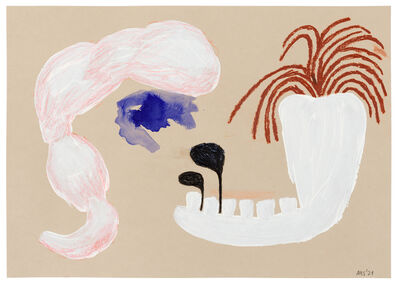Ashley Hans Scheirl, 'Jaw and Hair', 2021