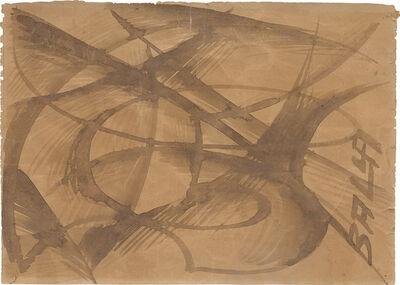 Giacomo Balla, 'Linea di velocità più paesaggio', 1913