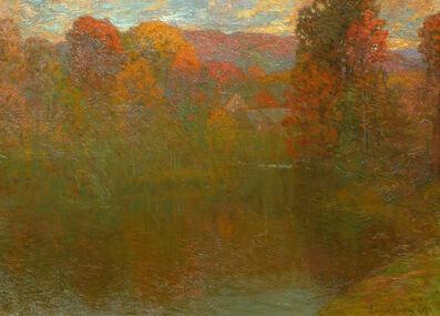 John Joseph Enneking, 'Autumn Symphony', 1889