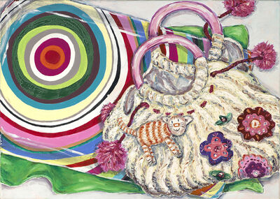 EVA BLANCHÉ, 'Handbag with Miezi', 2006