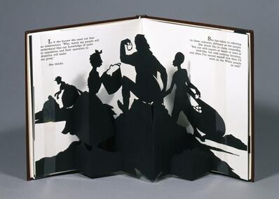 Kara Walker, 'Freedom, A Fable: A Curious Interpretation of the Wit of a Negress in Troubled Times', b.1969