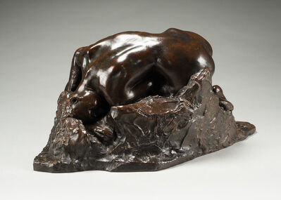 Auguste Rodin, 'Danaide, petit modèle, version type III', Conceived in 1885-cast between 1930 and 1940
