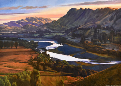 Dick Frizzell, 'Dark River Valley', 2018
