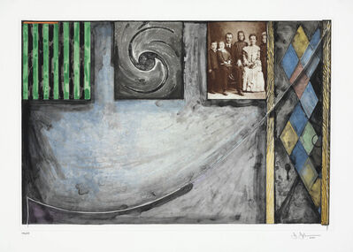 Jasper Johns, 'Untitled (US Embassies)', 1999