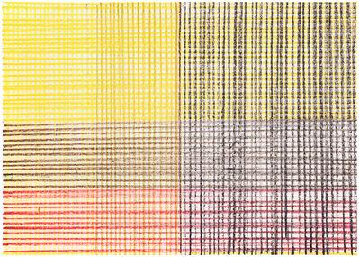 Helmut Federle, 'Nachbarschaft der Farben (16.2.97)', 1997