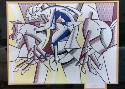 Roy Lichtenstein, 'Red Horseman (Racing Jockeys)', 20th Century