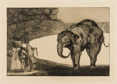 Francisco de Goya, 'Quien se pondrá cascabel al gato? (Otras Leyes por el Pueblo), from 'Los Proverbios'', circa 1824