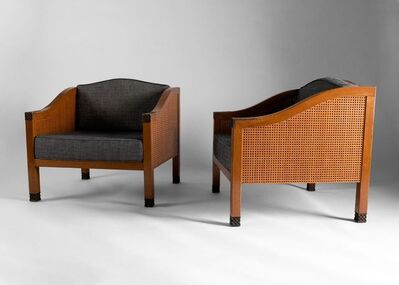 Louis Cane, 'Pair of Armchairs', early 21st century
