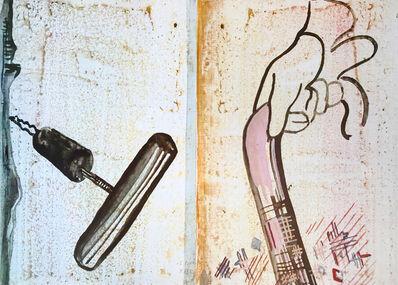 Sigmar Polke, 'Untitled (Spazierstock)', 1985