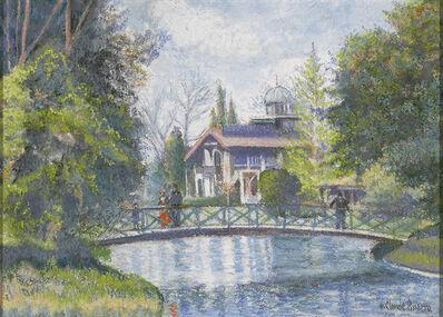 Hugues Claude Pissarro, 'Promenade au Parc Borély (Walk to Park Borély)', 1919