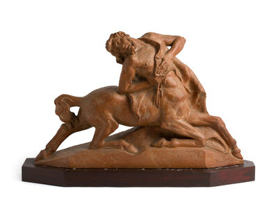 Alberto Bazzoni, 'Wounded centaur', about 1930
