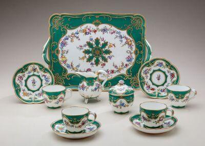 Sèvres Porcelain Manufactory, 'Tea service (déjeuner Courteille)', 1759