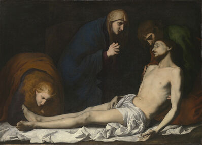 Jusepe de Ribera, 'Lamentation over the Dead Christ', Early 1620s
