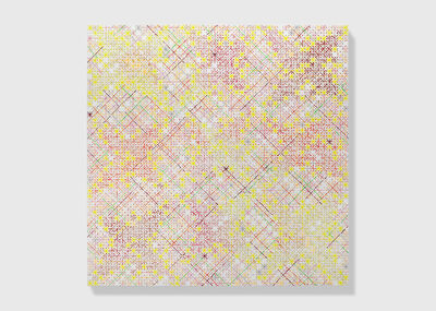 Ding Yi 丁乙, 'Appearance of Crosses 2018-16', 2018