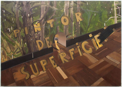 Pere Llobera, 'PINTOR DE SUPERFICIE', 2019