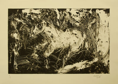 Raoul Middleman, 'Piebald', 2018