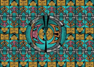 Susan Baus, 'Mosaic Twirl', 2014