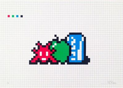 Invader, 'Still Life with Pocari Can', 2014