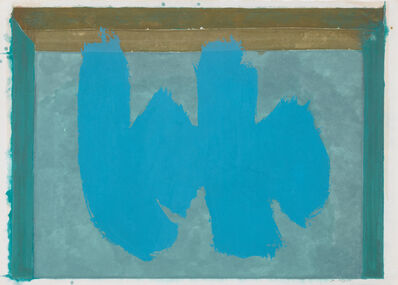 Robert Motherwell, 'Blue Elegy', 1987