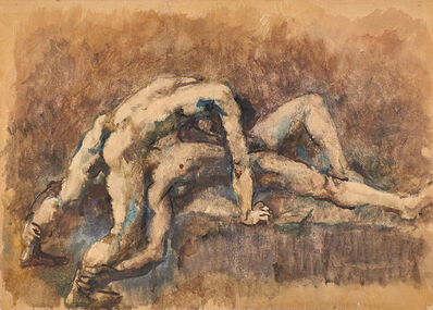 Pavel Tchelitchew, 'Wrestlers', 1932