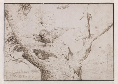 Hieronymus Bosch, 'The Owl's Nest', 1505-1515
