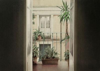 Carlos Morago, 'Balcón con plantas', 2019
