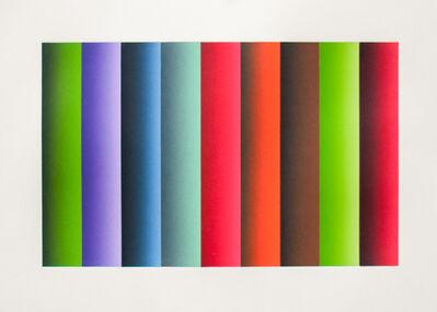 Polly Apfelbaum, 'Byzantine Roller 5', 2014