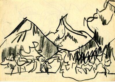 Ernst Ludwig Kirchner, 'Berglandschaft (Mountain Landscape)', 1933