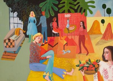 Jess Quinn, 'The Painter's Family after Matisse', 2019