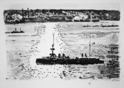 Childe Hassam, 'French Cruiser', 1918